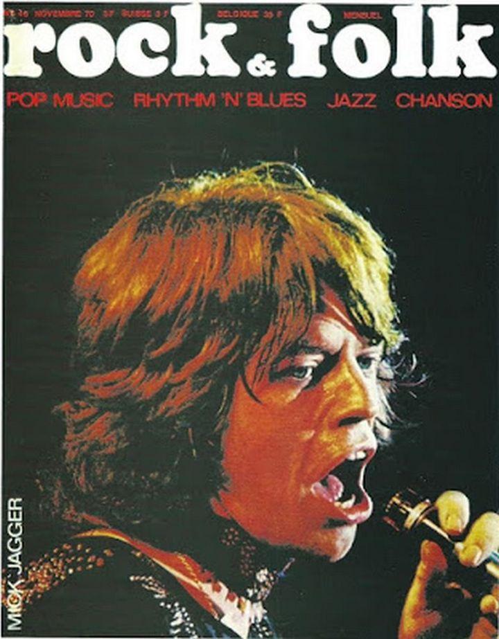 rock and folk γαλλικό περιοδικό