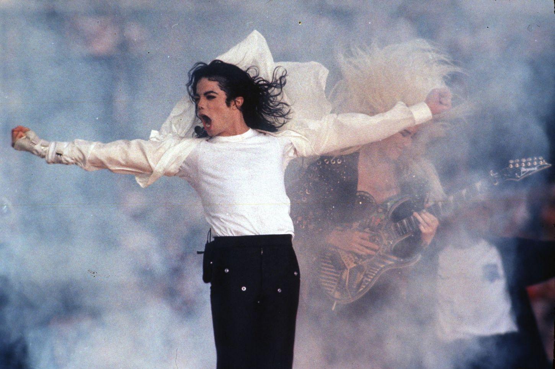 Ο Michael Jackson στο Super Bowl Halftime Show
