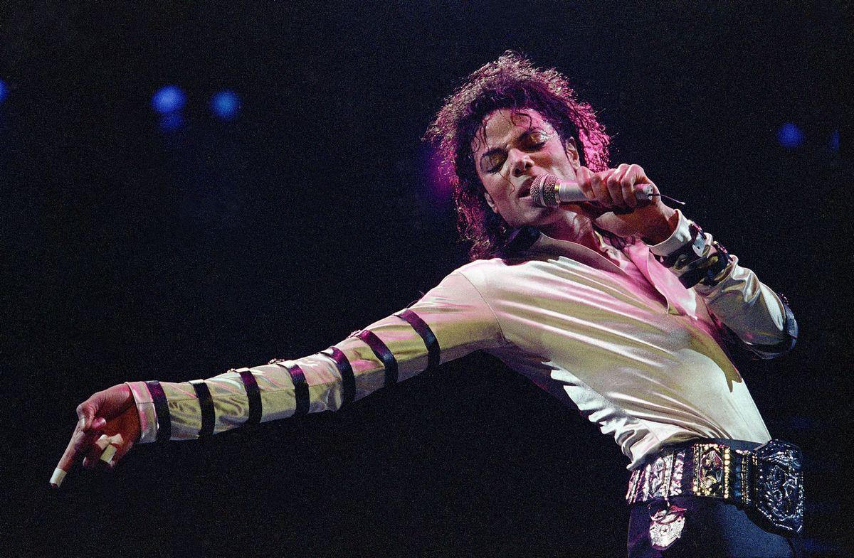 Ο Michael Jackson σε συναυλία του