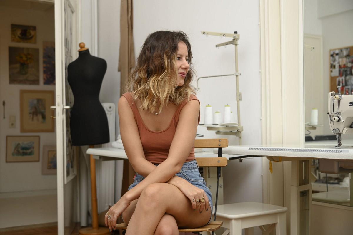 Μαρία Τάγκαλου, σχεδιάστρια.