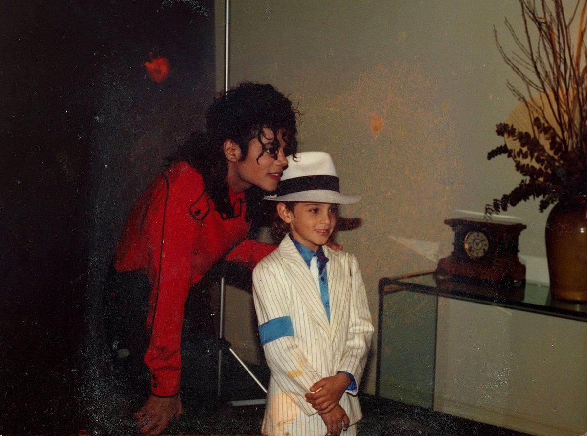 Ο Michael Jackson με τον Wade Robson