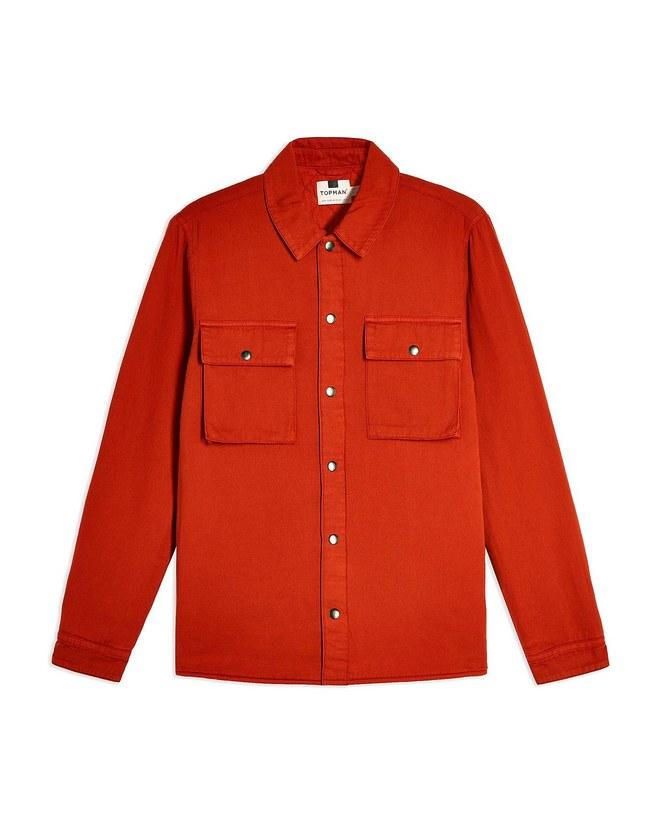 Βαμβακερό shirt jacket