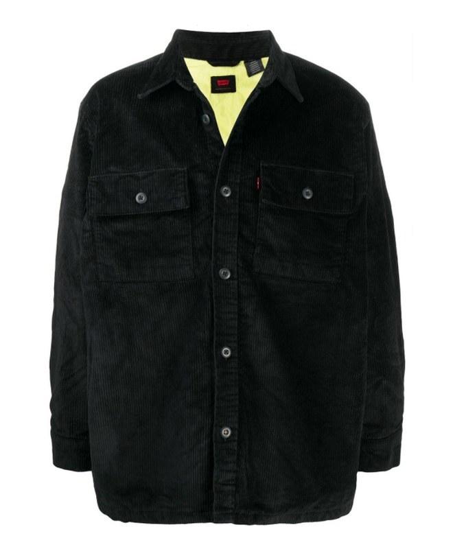 Κοτλέ jacket με τσέπες