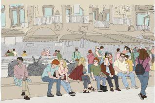 Οι πλατείες της Αθήνας λένε την ιστορία της πόλης στην πανδημία