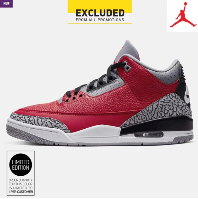 Jordan AIR 3 RETRO