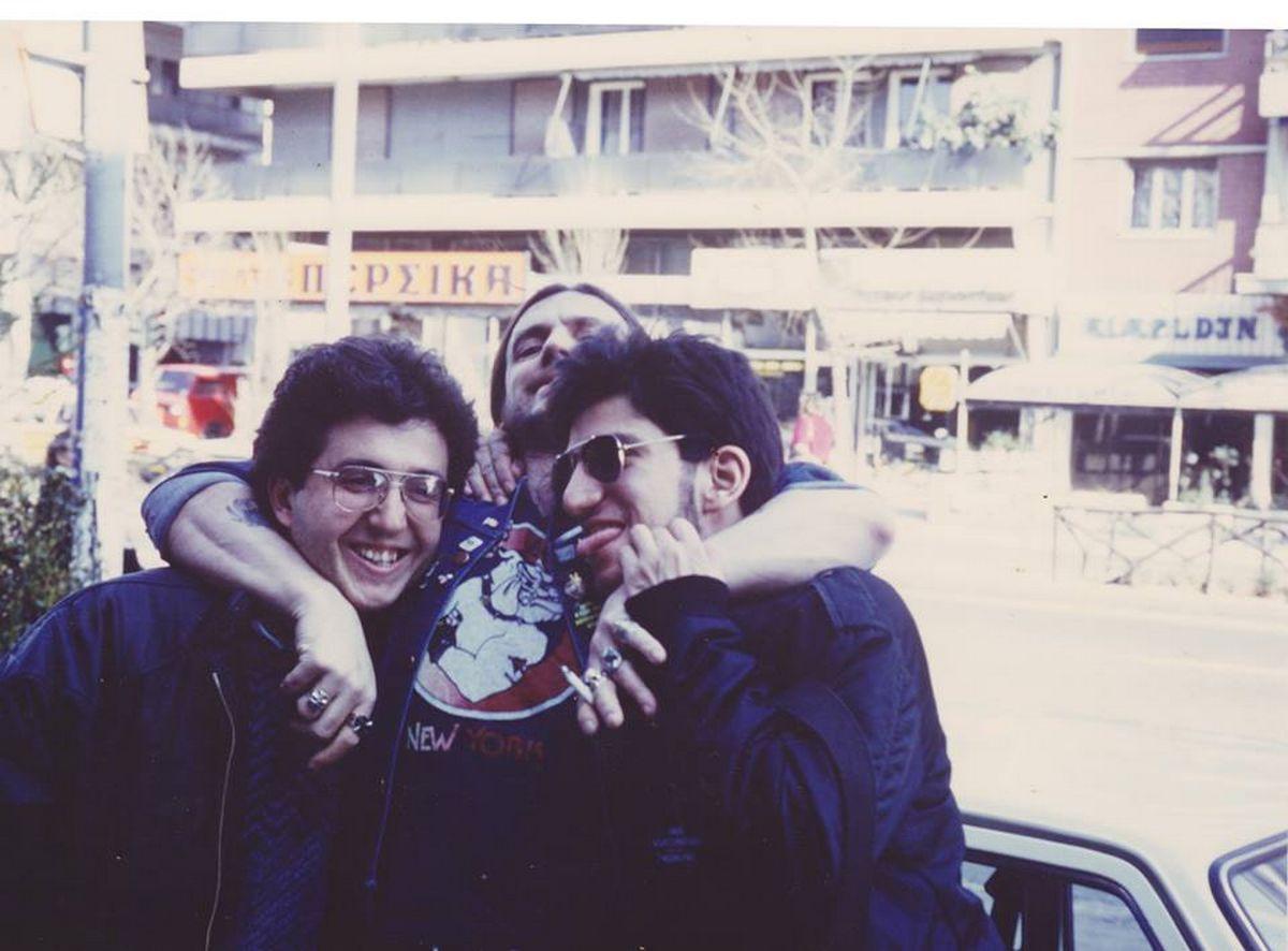Στάθης Παναγιωτόπουλος Lemmy 1988 Motorhead Sporting