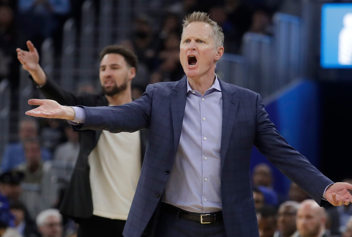 O Steve Kerr ως προπονητής των Warriors