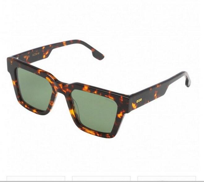 Γυαλιά σε ταρταρούγα με πράσινους φακούς