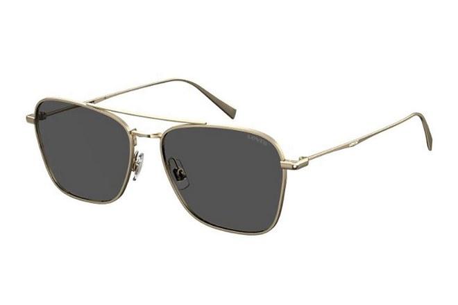 Γυαλιά με μεταλλικό χρυσό σκελετό