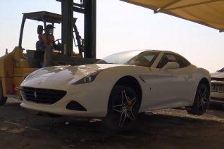 Το 'νεκροταφείο' των supercars στο Ντουμπάι προκαλεί θλίψη