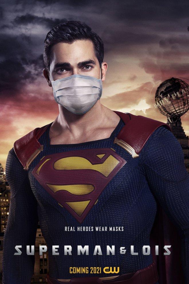 ο superman με μάσκα