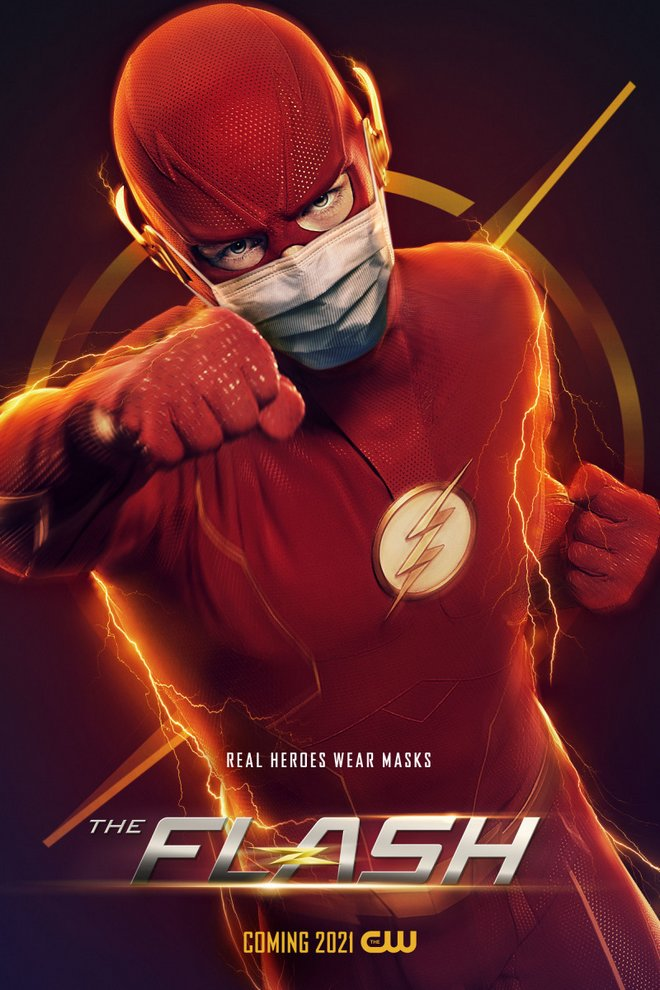 ο flash με μάσκα