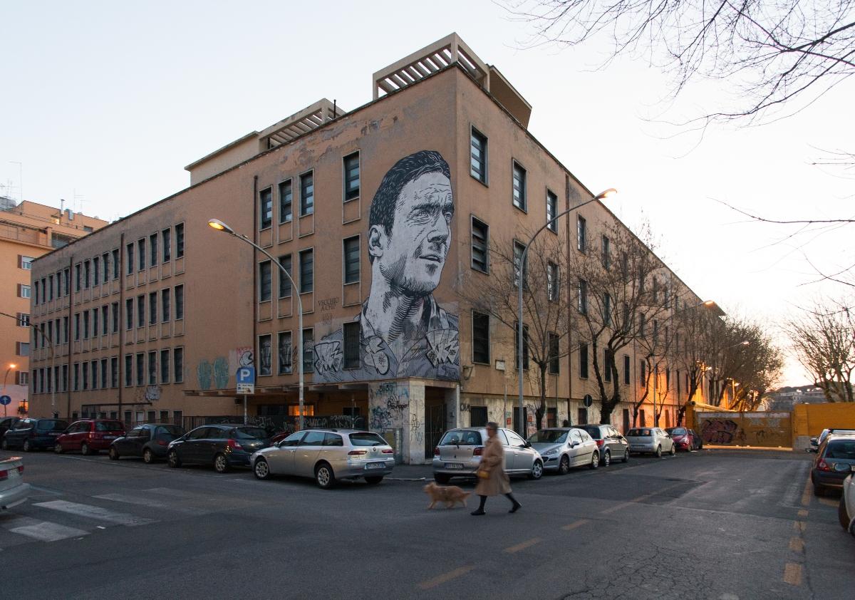 Francesco Totti Graffiti