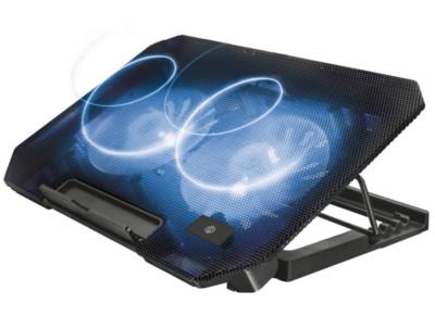 """Βάση Laptop Cooler 15.6"""" Urban Revolt Dual Fan Μαύρο"""