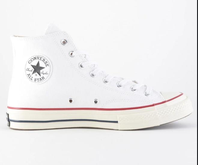 Converse Chuck Taylor All Star 1970s Hi WHITE/GARNET/EGRET 162056C