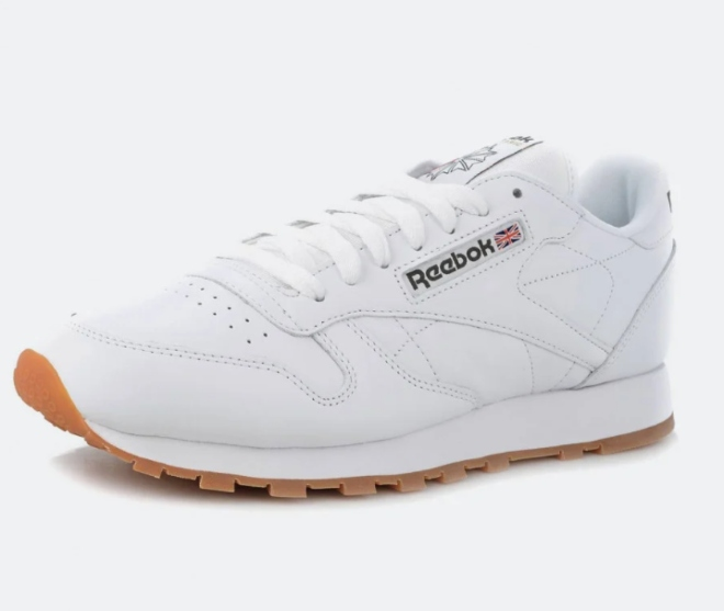 Reebok Classic Leather WHITE/GUM - 2 49799