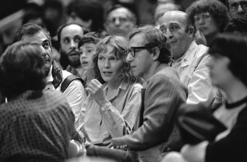 Η Mia Farrow και ο Woody Allen
