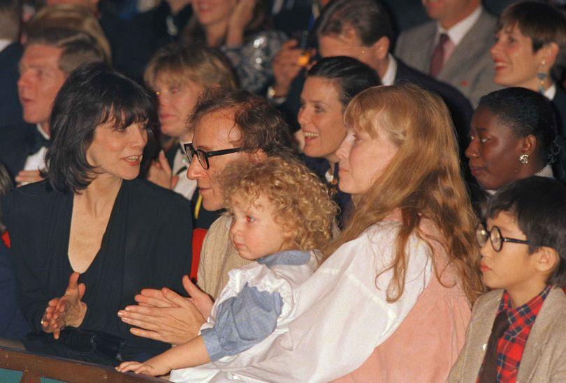 Ο Woody Allen και η Mia Farrow