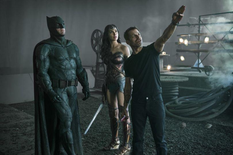 Ο Zack Snyder στα γυρίσματα του Justice League