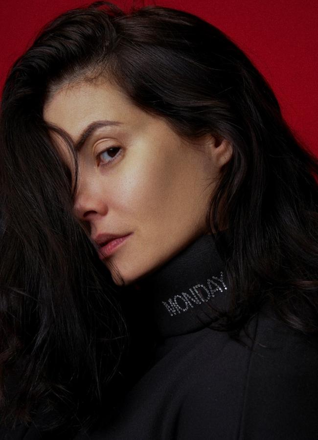 """Μαύρο ζιβάγκο μπλουζοφόρεμα """"DAYS'' by Maria Korinthiou Collection"""